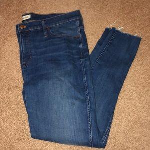 Like New Madewell Skinny Jeans